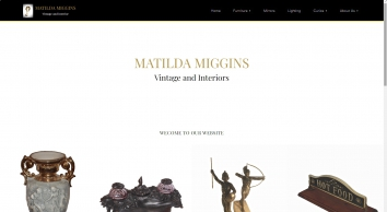 Matilda Miggins Antiques, Vintage, Interiors