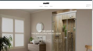 Luxury Enclosures, Shower Trays & Brassware - Matki Showering