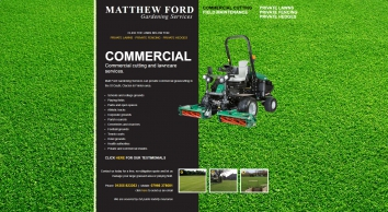 Lawn cutting, lawn maintenance and turfing, : St Osyth, Clacton and Frinton : Matthew Ford Garden Services, Essex