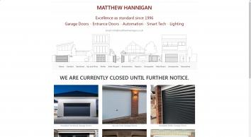 Matthew Hannigan Garage doors