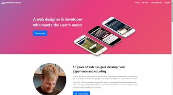 Freelance web designer & developer from Devon | Matthew Tapp Web Design