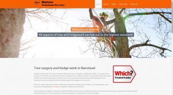 Tree Surgeon - Tree Surgery - Tree Care - Hedge Cutting in Banstead
