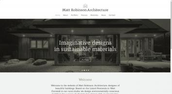 Matt Robinson Architecture