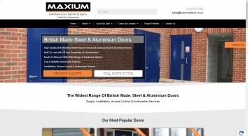 Maxium Doors