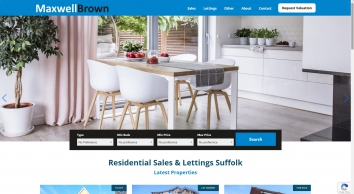 Maxwell Brown Independent Property Agents covering East Anglia for Residential Sales & Lettings