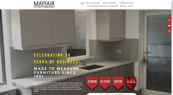 Mayfair Fitted Furniture Hertfordshire - Bedrooms Kitchens Studies Lounges and Bathrooms