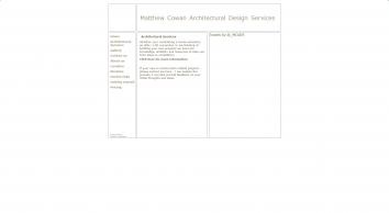 Matthew Cowan Architectural Design services