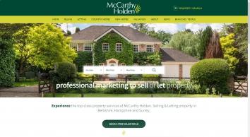 McCarthy Holden, Fleet