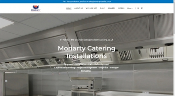 Moriarty Catering Installations Ltd