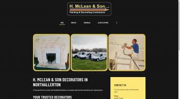 H McLean Northallerton Decorators