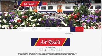 McRae\'s website