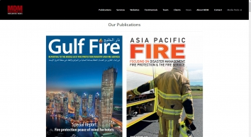 MDM Publishing Ltd | Global firefighter and fire safety publications for the fire and rescue industry