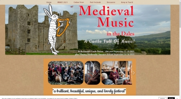 Medieval Music in the Dales medieval music festival Yorkshire