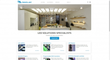 led specialists, dmx led controllers, edge lit signs