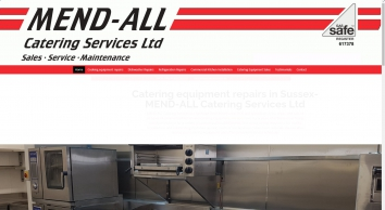 Professional catering equipment servicing - MEND-ALL Catering Services Ltd