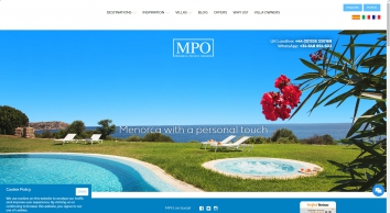Luxury Villas in Menorca to Rent with private Pools