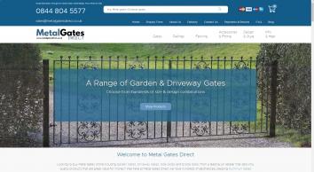 Buy Metal Garden Gates & Driveway Gates Online | Metal Gates Direct
