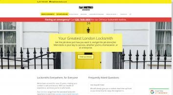 1st Metropolitan Locksmiths Ltd