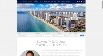 Stavros Mitchelides - Miami Beach Realtor