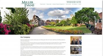 Miller Evans, Shrewsbury