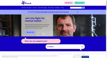 Home | Mind, the mental health charity - help for mental health problems