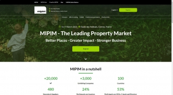 MIPIM UK - The UK property marketplace
