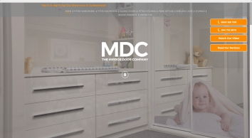 Fitted Furniture Designers   M.D.C the Mirror Door Company