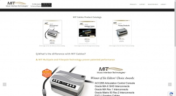 MIT Cables - Music Interface Technologies