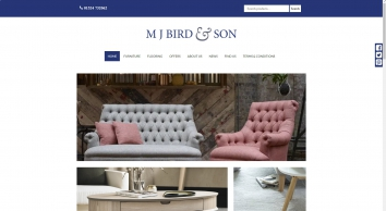 MJ Bird | Furnishing homes with top quality brands for generations