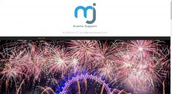 M J Events Support Ltd
