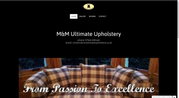 M & M Ultimate Upholstery