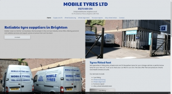 Mobile Tyres, tyre suppliers in Brighton