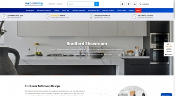 Kitchens Appliances, Bathrooms Suppliers Leeds, Bradford, Showroom |Modern Living