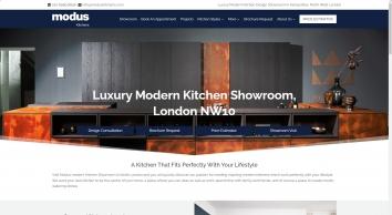 Modus Kitchens | London kitchen showroom.