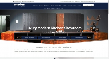 Modus are dealers for Warendorf, Pronorm, Nobila German kitchens