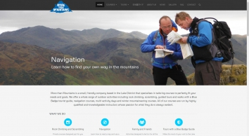 Rock Climbing and Navigation in the Lake District