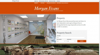 Properties for sale at Morgan Evans and Co Ltd Estate Agents Valuers Surveyors and Auctioneers