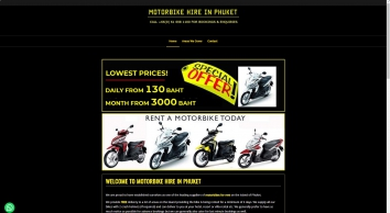 Motorbike Hire in Phuket - Rent Scooter - Phuket Rental Company