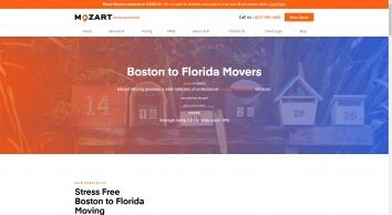 Mozart Moving - Boston To Florida Movers