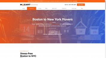 Mozart Moving -Boston to New York Movers