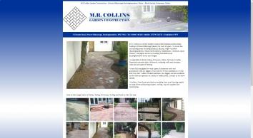 M R Collins Garden Construction