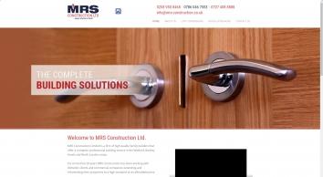 M R S Construction Ltd