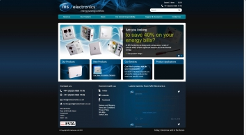 Energy Saving Robust Tamperproof Controls | MS Electronics