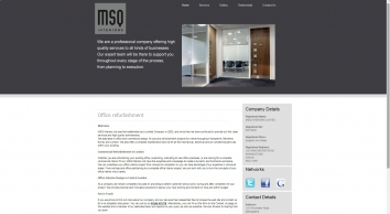 Office refurbishment in Basingstoke : MSQ Interiors Ltd