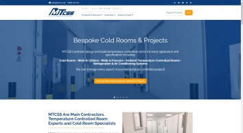 Cold Rooms and Doors for Sale UK - MTCSS