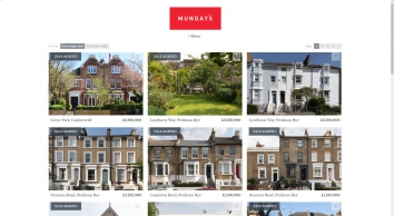 Munday\'s, London