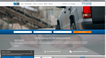 Vehicle Leasing | Van, Car & Pickup Deals | MW Vehicle Contracts