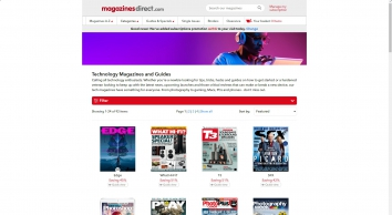 Technology & Gadget Magazine Subscriptions | My Favourite Magazines