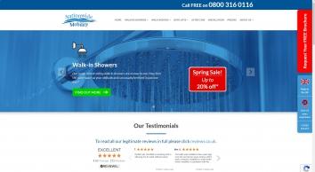 Walk in Bath, Shower Baths, Disabled Showers, Bathing Aids