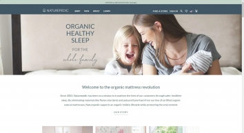 Organic Mattresses Manufacturer & Natural Bedding Design | Naturepedic